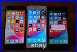 1 lot of 9 Apple iPhone 8 64GB A1905 GSM -, Mix carriers AT&T, T-Mobile, Verizon