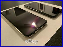 2 Apple iPhone XS Max 64GB Space Gray / Silver (AT&T) A1921 BAD IMEI