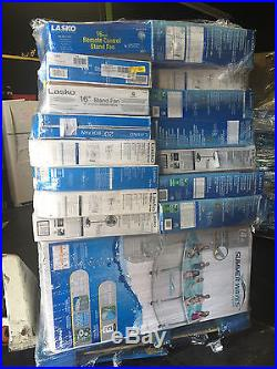 2 Pallet Walmart Fans and pools PALLETS