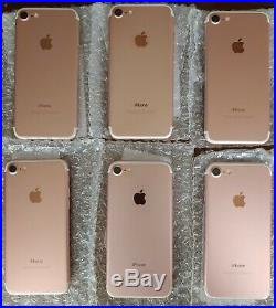 20 Rose Gold Apple iPhone 7 32GB Gold (Unlocked) Excellent Condition