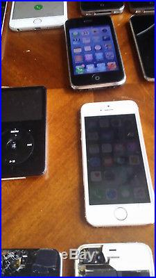 22 Apple Device Lot iPhones, iPods, iPads and Accessories! No Reserve