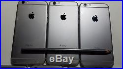 7 Lot Apple iPhone 6 A1549 64GB Cell Phone For Parts Only AS-IS Locked