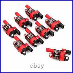 8 Set UF414 Round Ignition Coil For Chevy Silverado 1500 Impala Tahoe GMC D514A