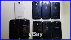 9 Lot Samsung Galaxy S4 Cell Phone Most are Solid Cond. Some flaws. Details