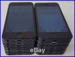Apple iPhone 5 A1429 16GB Black Mobile Smartphone Lot For Parts (iCloud)