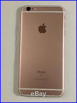Apple iPhone 6s 16GB Rose Gold (Unlocked) Model A1687 Excellent #X-219