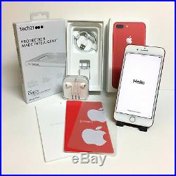 Apple iPhone 7 Plus (PRODUCT)RED 128GB (Sprint) A1661 Mint Condition Lot