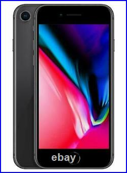 Apple iPhone 8 64GB Boost Mobile Space Gray Factory Refurb