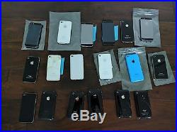 Apple iPhone (Various Models and Carriers) Smartphone Wholesale Lot Of 18