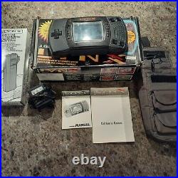 Atari Lynx II, 11 Games, Battery Pack, AC Adapter, Carry Case, Comm Lynx, More