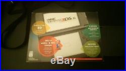 Black used New Nintendo 3DSXL LOT SYSTEM CHARGER CARRYING CASE 3 GAMES ALL CIB