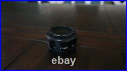 Canon EOS M50 24.1MP Mirrorless Digital Camera with 15-45mm + 22mm 2.0 Lens