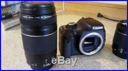 Canon EOS Rebel T3i / EOS 600D 18.0MP Digital SLR Camera Black Kit with EF-S IS