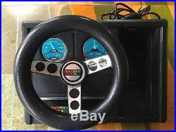 ColecoVision Console Video Game System, Expansion Module 2 Steering Wheel, Games