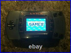 Deluxe BennVenn Screen Atari Lynx II Bundle With 5 Games and Carry Case