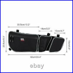 Electronic Device Holder & UTV Front Side Door Bags For Can Am Maverick X3 2017+
