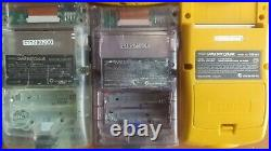 Gameboy Color Lot of 10 As is Junk for parts or repair GBC Nintendo console JP