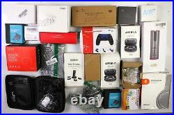 HUGE Wholesale Lot of Assorted Consumer Electronics, 75 items, MSRP over $1600