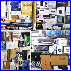 HUGE Wholesale Lot of Assorted Consumer Electronics, 90 items, MSRP over $1900