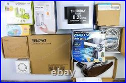 HUGE Wholesale Lot of Consumer Electronics & Home Products, 50 items, $1100 MSRP