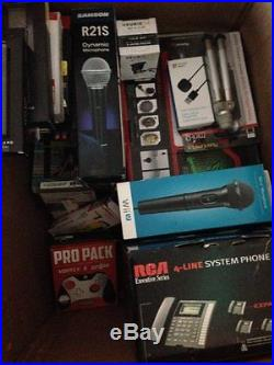 Huge Lot Gaming Items, 3D Glasses, Bluetooth, Phone & More, New Condition