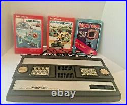 Intellivision Console Refurbished to Perfect Condition With Games