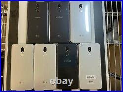 LG STYLO 5 Mix LOT of 7 FAIR Conditions FOR PARTS ONLY Check IMEI GOOGLE