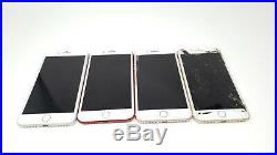LOT OF 4 Apple iPhone 7 Plus 32GB Account Locked Untested Parts Only