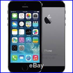 LOT OF 5 APPLE iPHONE 5s 16GB GSM UNLOCKED CELL PHONE SMARTPHONE SPACE GRAY