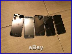 LOT OF 5 Apple iPhone 5s 16GB Space Gray (Unlocked) A1533 (GSM) (CA)