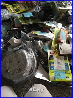 Lot Electronics Over 300 Items cell Phone Accessories Of All Kinds
