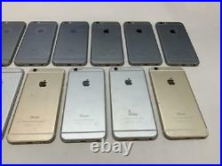Lot Of 13 X Iphone 6 A1549 Broken Screen Or IC Lock / For Parts / As Is