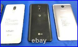 Lot Of 4 Lg K51/ Stylo 5/ Stylo 4+/ Huawei Elate H1711z For Parts Or Repair