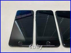 Lot Of 4 X Apple Iphone 7 A1778 / No Power But Good Screen / For Parts / As Is