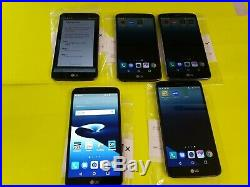 Lot Of 5 Lg Stylo 3 5.7 16gb Ls777 Sprint Boost Mobile No-sim Card Android