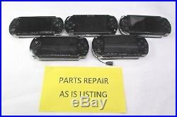 Lot Of 5 Sony PSP 3001/1001 For Parts Or Repair With Missing Battery Cover