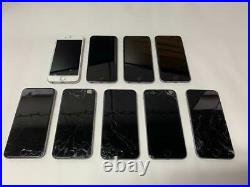 Lot Of 9 X Apple Iphone 6 A1549 For Parts (ic Locked Or/and Broken Screen)
