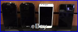Lot of 10 AT&T Phones Samsung / Nokia / ZTE / Sony / Huawei Tested Working READ