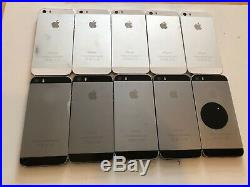 Lot of 10 Apple iPhone 5s 16GB Space Gray/White (Unlocked) A1533 (GSM)