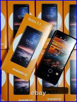 Lot of 10 Nokia 3.1 A 32GB -Black complete, any GSM carrier unlocked