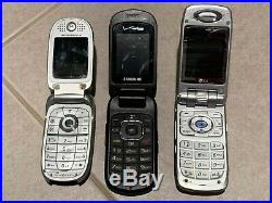 Lot of (11) Cell Phones Smartphones, Samsung, Motorola, LG, HTC and more