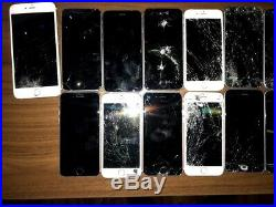 Lot of 20 Apple iPhone 6s 128GB, Untested
