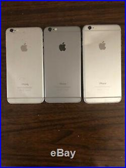 Lot of 23 Apple iPhone /6 /6+/ 6s/ 7 / 7+PARTS ONLY, Wholesale Smartphone