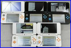 Lot of 31 New Nintendo 2DS XL Handheld Game Console JAN-001 Cracked Top Screen