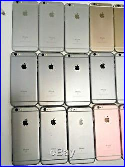 Lot of 38 Apple iPhone 6s -32GB, 64GB, or 128GB, any color A1688 (CDMA + GSM)
