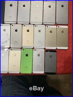 Lot of 49 iPhone 5/5c/5s/6/6S/6S+/XR/and IPOD PARTS ONLY, Wholesale Smartphone