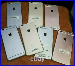 Lot of 7 Apple iPhone 6s 16GB & 128GB -APPLE ID ONLY FOR PARTS