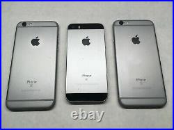 (Lot of 7) iPhone 6s, 6s+, SE, iPad Pro 10.5, ALL IC LOCKED For Parts ZK