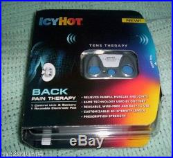 Lot of 9 NEW Icy Hot Tens Therapy Starter Kits for Back Pain