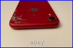 Lot of two (2) Apple iPhone XR Product Red & White A1984 For Parts Only